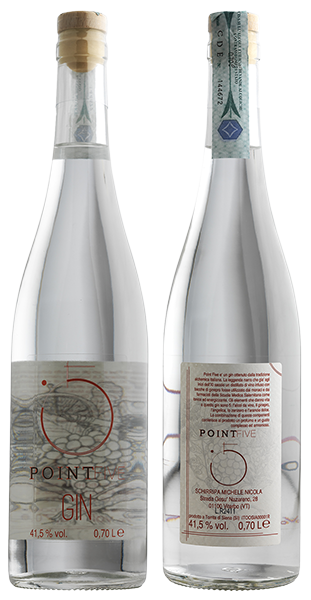 Point Five Gin - Bottiglia